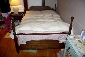 Vintage Oak Bed Frame - Double