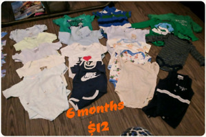 Infant boy clothes. Socks. Hats. Bibs. Blankets.