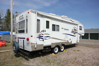 2005 COUGAR KEYSTONE 5TH WHEEL