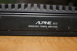 Alpine 3513 50 watt power amp