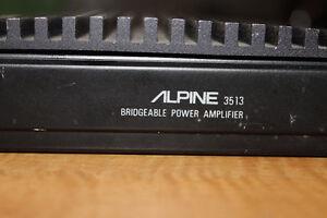 Alpine 3513 50 watt power amp Moose Jaw Regina Area image 1