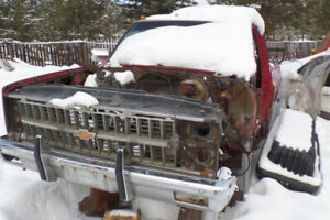 chevy ,bumper and grill