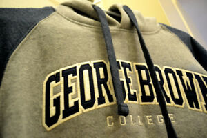 George Brown Hoodie Great for Autumn/Winter