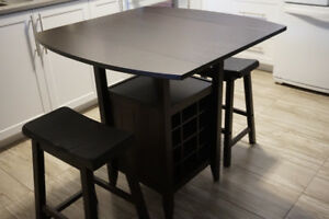 Table and stool set
