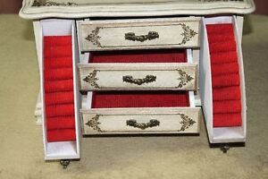 Wooden Jewelry Box 3 Drawers Plus 2 Pull Down Ring Drawers Kingston Kingston Area image 2