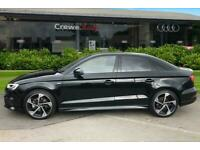 2020 Audi A3 Saloon Black Edition 35 TFSI 150 PS 6-speed Saloon Petrol Manual