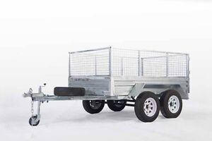8x5 Hot Dipped Galvanized Tandem Axle Fully Welded Sides Morayfield Caboolture Area Preview