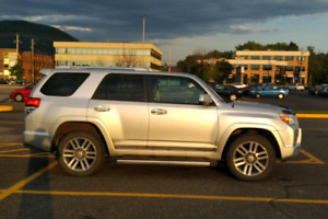 Toyota 4runner limited 7 passagers