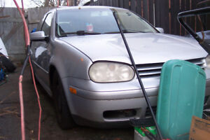 vw golf 2001 tdi  diesel  sale  parts