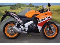 Honda CBR125R **Repsol Replica, Excellent Condition, Learner Legal**