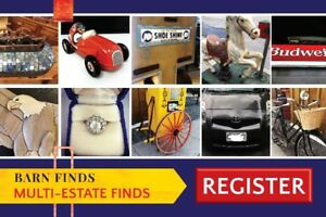 Multi-Estate Online Auction at www.barnfindsbid.com