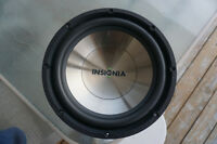 "New Insignia 12"" Subwoofer 800W / Neuf haut parleurs"