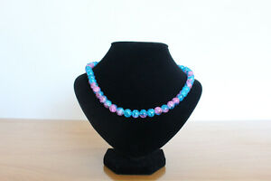 Nice handmade beads necklace and bracelet