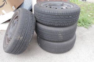 Winter Tires for Aveo  185/60R14, $$100 for 4 tires