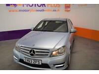 2014 63 MERCEDES-BENZ C CLASS 2.1 C220 CDI BLUEEFFICIENCY AMG SPORT 4D 168 BHP D