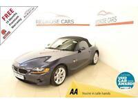 2004 04 BMW Z4 2.2 Z4 SE ROADSTER 2D 168 BHP