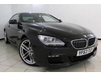 2013 63 BMW 6 SERIES 3.0 640D M SPORT 2DR 309 BHP DIESEL