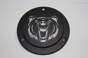 """Grizzly"" Custom  Harley Davidson Derby Cover ""Free Shipping"""