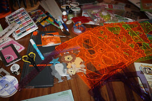 HUGE Collection of Scrapbooking Supplies FOR SALE Kitchener / Waterloo Kitchener Area image 4