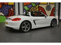 2012 PORSCHE BOXTER 981 2.7 PURE WHITE OVER £5,000 PORSCHE UPGRADES