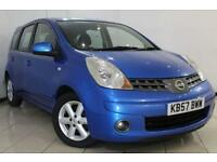 2007 57 NISSAN NOTE 1.4 ACENTA 5D 88 BHP