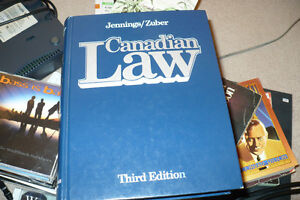 canadian law book