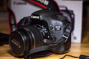 Canon 7D and Kit