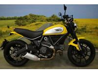Ducati Scrambler Icon 2015**1474 MILES, BREMBO BRAKES, ABS, DIGITAL DISPLAY**