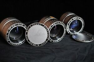 7 Assorted camera lenses