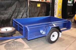 7X4 SERIOUSLY HEAVY DUTY FULL BODY TRAILER Adelaide CBD Adelaide City Preview