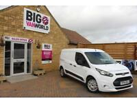 2014 FORD TRANSIT CONNECT 240 TDCI 115 L2 H1 TREND LWB LOW ROOF PANEL VAN DIESEL