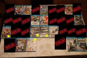 ** Nintendo Wii U Games For Sale **