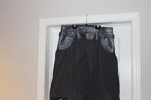 New Danier Leather Skirt