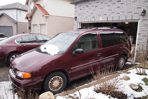 1998 Ford Windstar Minivan with hitch and trailer Kitchener / Waterloo Kitchener Area image 9