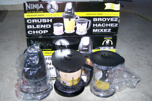 Ninja Master Prep Professional Blender Only $50 Call 3065910391