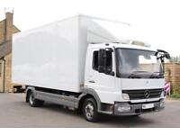 2010 MERCEDES ATEGO 816 DAY CAB 20FT GRP BOX LUTON DIESEL