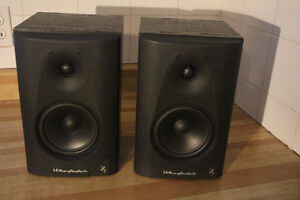 haut-parleurs, speakers wharfedale diamond 7.2 ( bookshelf )