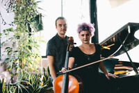 Piano/Cello duo available for special events