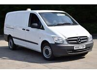 2.1 113 CDI 6D 136 BHP LWB FWD DIESEL MANUAL PANEL VAN 2013
