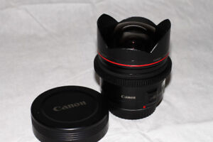New Condition Canon 14mm f2.8 L USM with Cinema focus ring