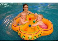 Twin swim Float (suitable for twins and infants of similar ages)