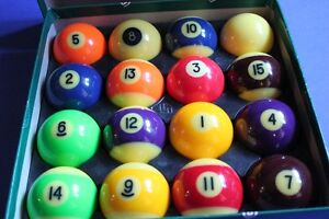 Aramith Fluorescent Billiard Ball Set (VIEW OTHER ADS)