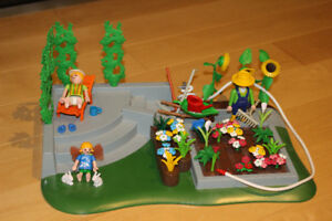 Playmobil 3134+4196 - Jardin Potager - Garden flower superset