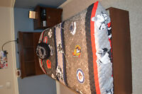4 piece twin bed set