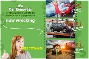 Wanted: Wanted: Free Car Removal Perth - All Areas