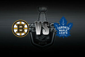 Leafs vs Bruins Playoffs Game 4 **Club Seats** OBO