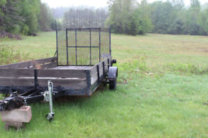 Utility trailer---price reduced