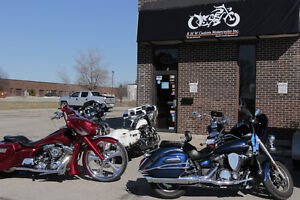 Motorcycle Repair Shop and Custom