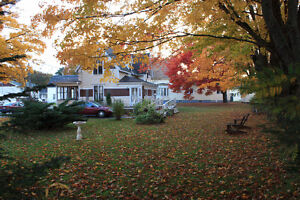 For Sale Historic Sea Captains Home in Parrsboro NS by the sea.