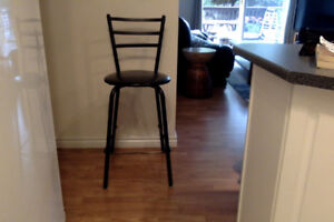 """TWO BAR STOOLS IN EXCELLENT CONDITION; 25"""" HEIGHT"""